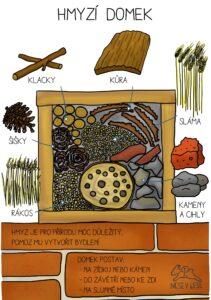 Postav domek pro hmyz