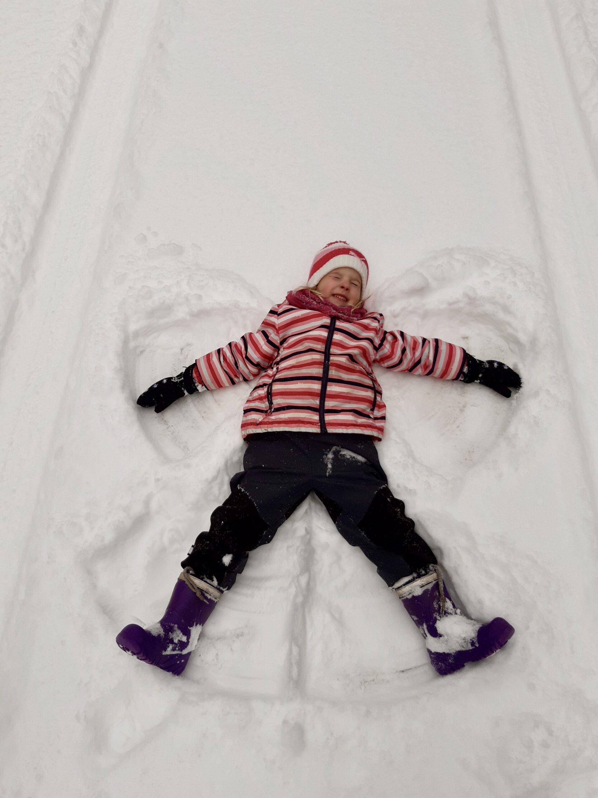 Užij si sněhové hry